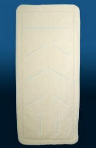 gyapjú-steppelt derékalj